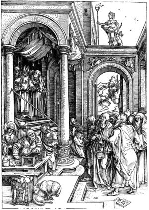 Albrecht Durer - Presentation of the Virgin at Temple