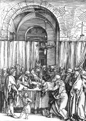 Albrecht Durer - Refusal of Joachim's Offer