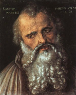 Albrecht Durer - Saint Philip the Apostle