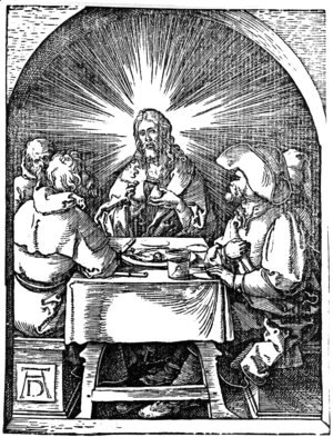 Albrecht Durer - Supper at Emmaus