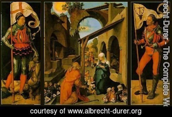 Albrecht Durer - The Paumgartner Altarpiece - Full View