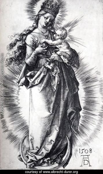 The Virgin On The Crescent With A Crown Of Stars (First State)