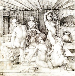 Albrecht Durer - The Women's Bath
