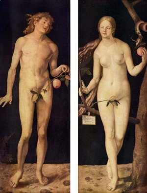 Albrecht Durer - Adam and Eve 2