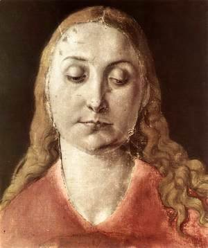 Albrecht Durer - Head of a Woman