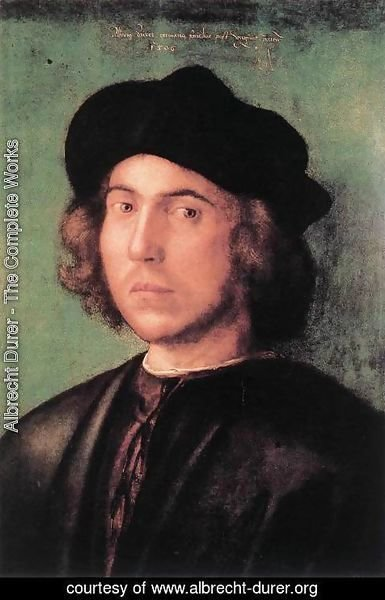 Albrecht Durer - Portrait of a Young Man 2