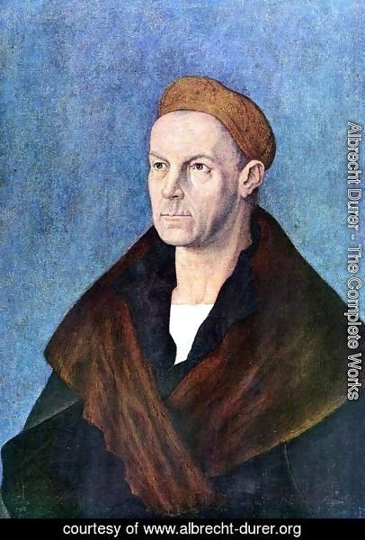 Albrecht Durer - Portrait of Jakob Fugger 'the Rich'
