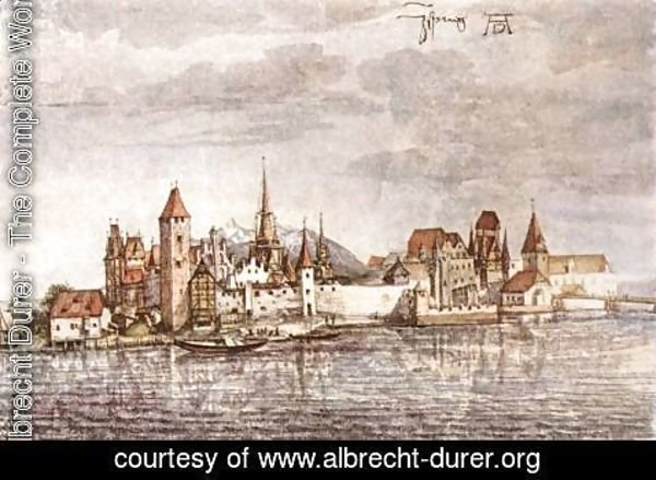 Albrecht Durer - View of Innsbruck