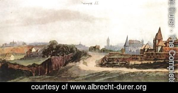 Albrecht Durer - View of Nuremberg