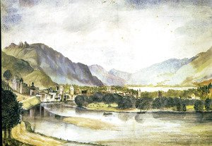 Albrecht Durer - View of Trento