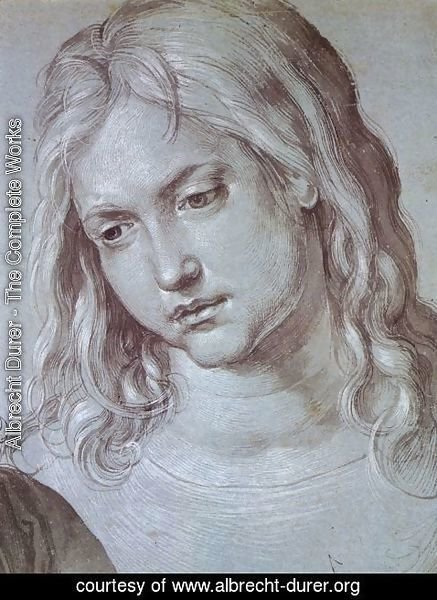 Albrecht Durer - Head of St Mark (2)