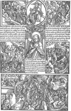 Albrecht Durer - Illustration to Revelationes Sancte Birgitte 1