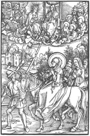 Albrecht Durer - Illustration to Revelationes Sancte Birgitte 2