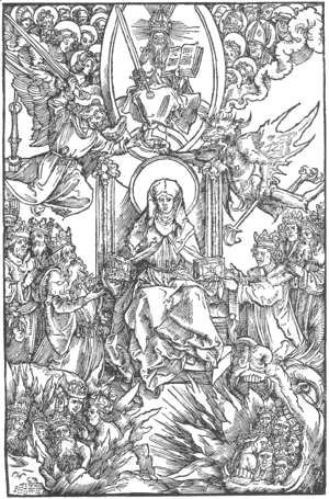 Albrecht Durer - Illustration to Revelationes Sancte Birgitte 3