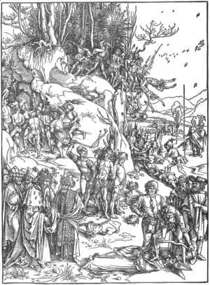 Albrecht Durer - Martyrdom of the Ten Thousand 2