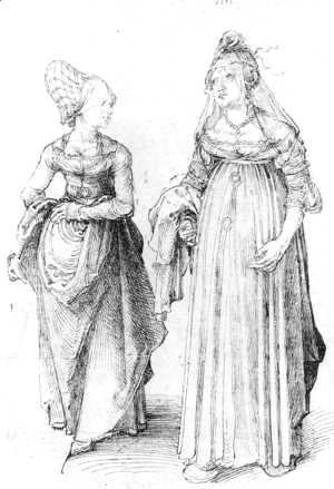 Albrecht Durer - Nuremberg and Venetian Women