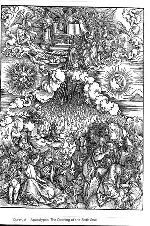 Albrecht Durer - Opening Of The 5th And 6th Seal