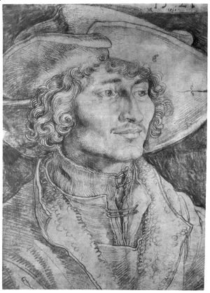 Albrecht Durer - Portrait of a Young Man 3