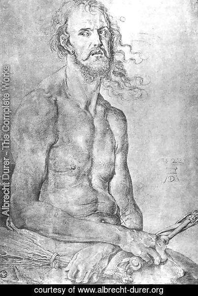 Albrecht Durer - Self-Portrait as the Man of Sorrows