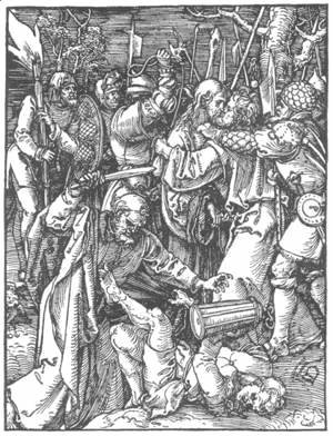 Albrecht Durer - Small Passion, 11. Christ Taken Captive