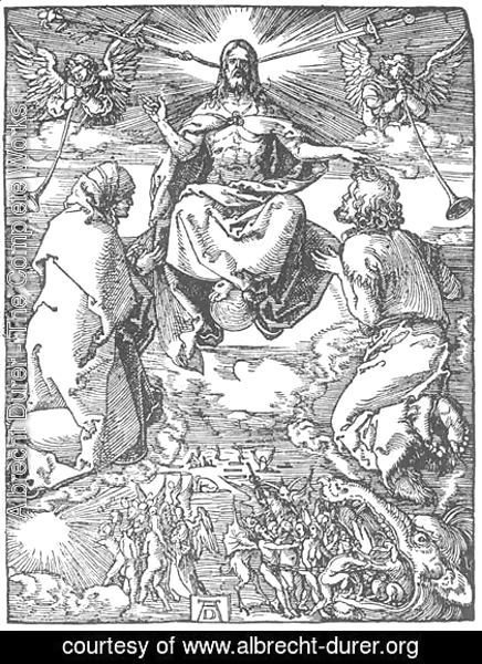 Albrecht Durer - Small Passion, 36. The Last Judgment