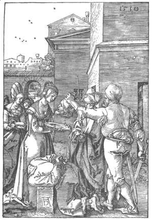 Albrecht Durer - The Beheading of St John the Baptist
