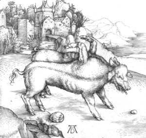 Albrecht Durer - The Deformed Landser Sow