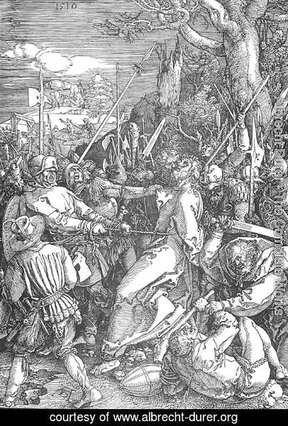 Albrecht Durer - The Large Passion, 10. Christ Taken Captive