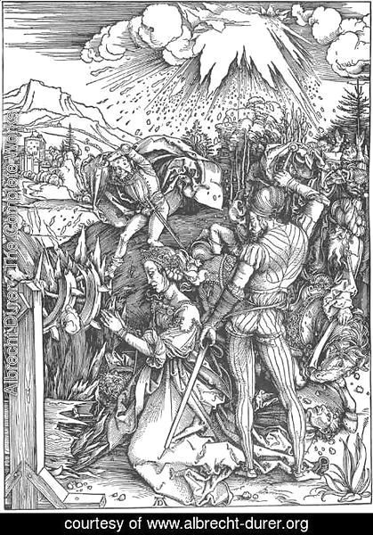 Albrecht Durer - The Martyrdom of St Catherine