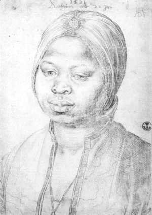 Albrecht Durer - The Negress Katherina