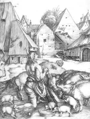 Albrecht Durer - The Prodigal Son 2