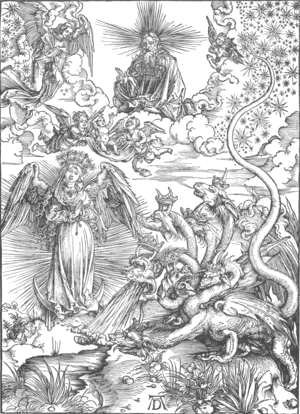 The Revelation of St John, 10. The Woman Clothed with the Sun and the Seven-headed Dragon)