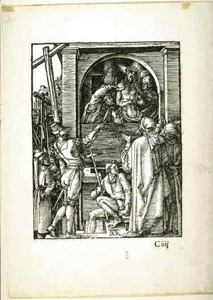 Albrecht Durer - The Small Passion Ecce Homo