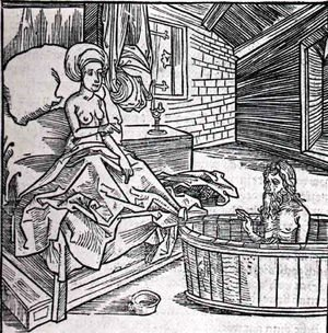 Albrecht Durer - Women Cold Bath And L'Ermite