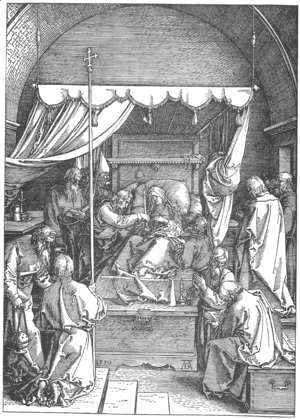 Albrecht Durer - Life of the Virgin 17. The Death of Mary