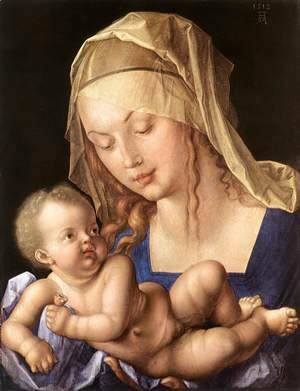 Albrecht Durer - Madonna of the Pear 2