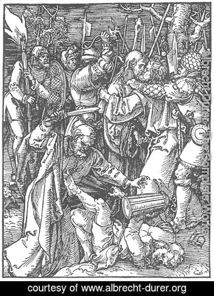 Albrecht Durer - Small Passion 11. Christ Taken Captive