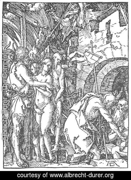 Albrecht Durer - Small Passion 25. Christ in Limbo
