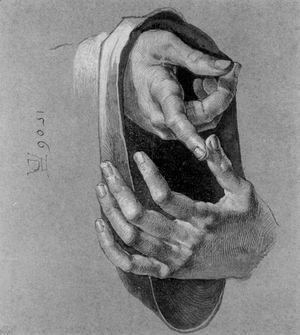 Albrecht Durer - Study of Hands