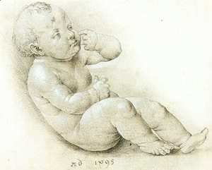Albrecht Durer - Study of the Christ Child