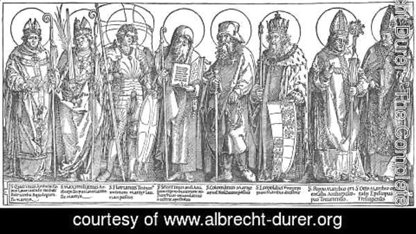 Albrecht Durer - The Austrian Saints