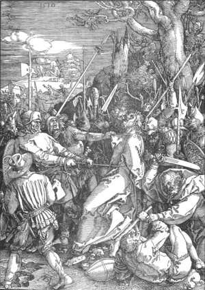 Albrecht Durer - The Large Passion 10. Christ Taken Captive