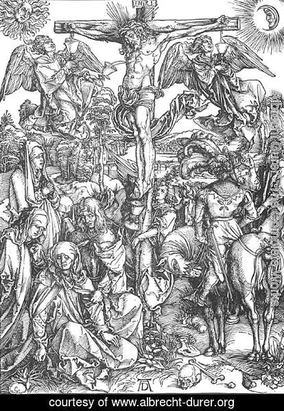 Albrecht Durer - The Large Passion 6. The Crucifixion