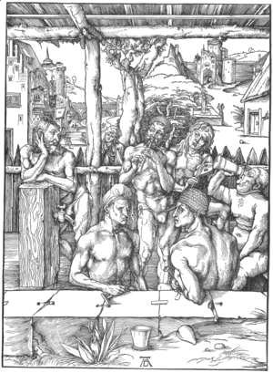 Albrecht Durer - The Men's Bath