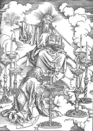 Albrecht Durer - The Revelation of St John 2. St John's Vision of Christ and the Seven Candlesticks