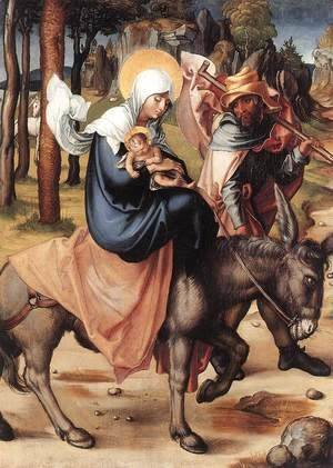 The Seven Sorrows of the Virgin The Flight into Egypt