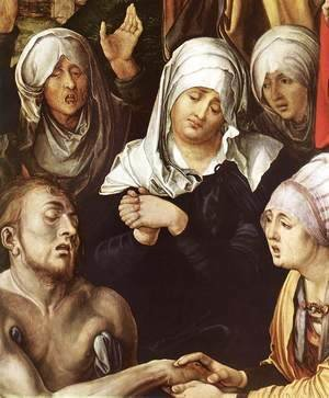 Lamentation for Christ (detail)