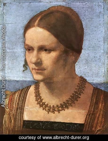 Albrecht Durer - Portrait of a Venetian Woman 2