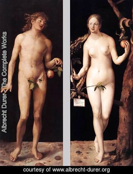 Albrecht Durer - Adam and Eve 3