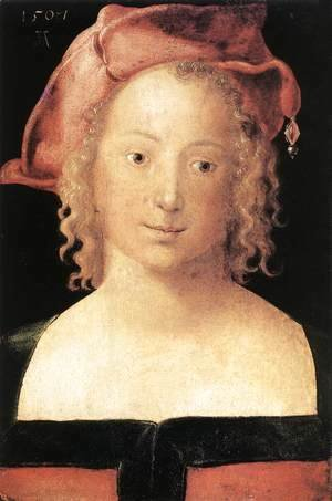 Albrecht Durer - Portrait of a Young Girl 2